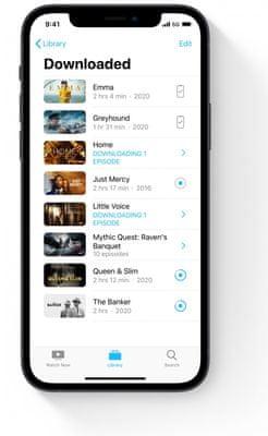 Apple iPhone 12, čtečka obličeje Face ID, rozpoznání obličeje 5G rychlý internet stream vysoká kvalita