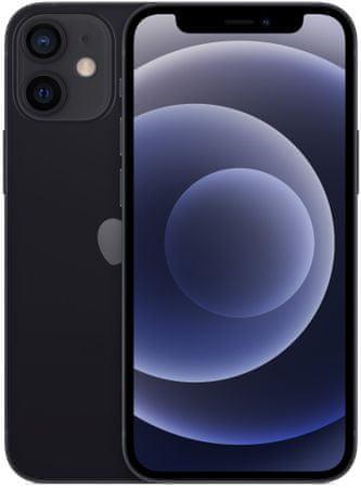 Apple iPhone 12 mini mobilni telefon, 64GB, Black