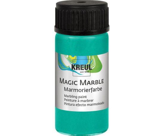 Kraftika Mramorovací barva magic marble 20 ml metalická zelená