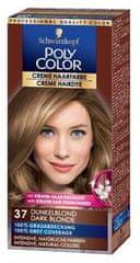 Schwarzkopf Poly Color kremna barva za lase, 37 Dark Blonde