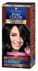 Schwarzkopf Poly Color kremasta boja za kosu, 45 Black