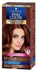 Schwarzkopf Poly Color kremna barva tza lase, 77 Chestnut