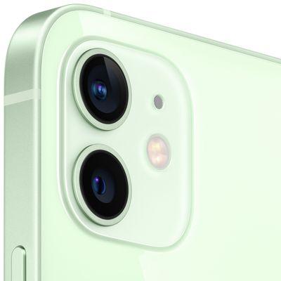 Apple iPhone 12, duální širokoúhlý ultraširokoúhlý fotoaparát vylepšený noční režim optická stabilizace obrazu Smart HDR