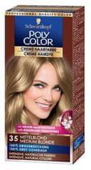 Schwarzkopf Poly Color kremna barva za lase, 35 Medium Blonde