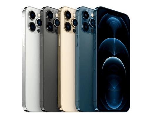 Apple iPhone 12 Pro Max, OLED Retina XDR displej, TrueTone displej, věrné barvy, vysoké rozlišení, velký displej, šetrný