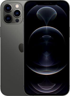 Apple iPhone 12 Pro Max, čtečka obličeje Face ID, rozpoznání obličeje 5G rychlý internet stream vysoká kvalita