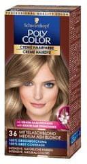 Schwarzkopf Poly Color kremna barva za lase, 36 Medium Ash Blond