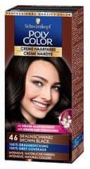 Schwarzkopf Poly Color kremna barva za lase, 46 Brown Black