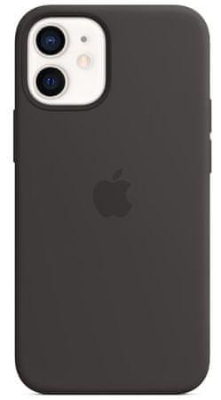 Apple iPhone 12 mini ovitek, MagSafe, Black (MHKX3ZM/A)