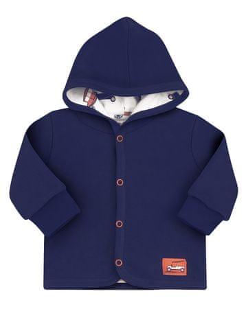 Nini jakna za dječake od organskog pamuka, 62, tamno plava