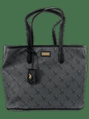 U.S. Polo Assn. černá kabelka HAMPTON Medium Shopping
