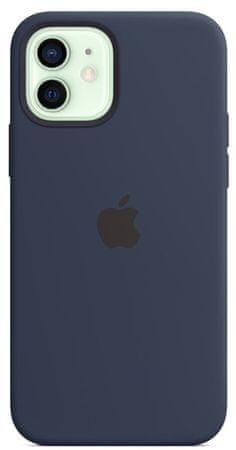 Apple iPhone 12/12 Pro Silicone Case ovitek, z MagSafe, Deep Navy