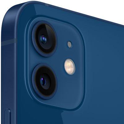 Apple iPhone 12 mini, duální širokoúhlý ultraširokoúhlý fotoaparát vylepšený noční režim optická stabilizace obrazu Smart HDR