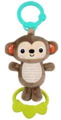 Bright Starts Játék dallammal C gyűrűb Tug Tunes majom