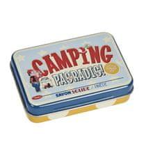 "Natives Vintage Mydlo v krabičke ""Camping pas un radis"" 9,5 x 6,7 x H.2 cm - 100 gr, plech, 900550"