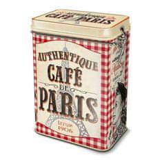 "Natives , Vintage, Dóza na kávu ""Café de Paris"" 13x8.5x18cm, plech, 211151"