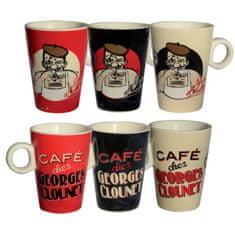 "Natives , Vintage, Šálky kávové Espresso sada 6ks ""Georges Clounet"" 5,7x7,7 cm - 10 cl, porcelán, 310540"