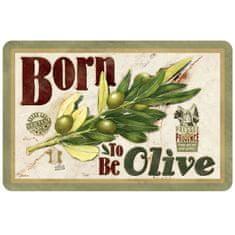 "Natives , Vintage, Prestieranie ""Born to be olive"" 43.5x28.5 cm, pvc, 610940"