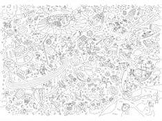 OMY DESIGN & PLAY Vymalovánky MAXI Vesmír