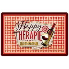"Natives , Vintage, Prestieranie ""Happy thérapie vin "" 43.5x28.5 cm, pvc, 610960"