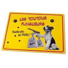"Natives , Vintage, Podložka pod misku pre psy ""Les Toutous flingueurs"" 51x38 cm, pvc, 211427"
