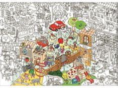 OMY DESIGN & PLAY Vymalovánky MAXI Dětský život