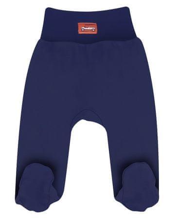 Nini hlače za dječake sa čarapama, organski pamuk, plave, 62