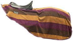 HKM Fleecová bederní odpocovací deka HKM fialová/hnědá, Velikost 115