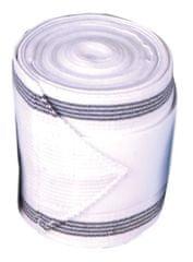 HKM Bandáže kombinované Elastikfleece 4ks HKM bílá/černá