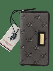 U.S. Polo Assn. dámská hnědá peněženka HAMPTON Large Zip around wallet