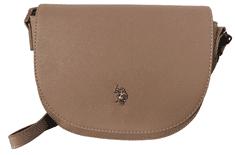 U.S. Polo Assn. béžová crossbody kabelka JONES Small Crossbody w/flap