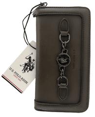 U.S. Polo Assn. dámská hnědá peněženka GREATWOOD large zip around w.