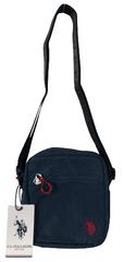 U.S. Polo Assn. pánská modrá crossbody taška NEW KNOCK-IN Small Cross Body