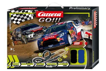 CARRERA Autópálya GO 62495 Super Rally