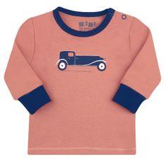 Nini koszulka chłopięca z organicznej bawełny.