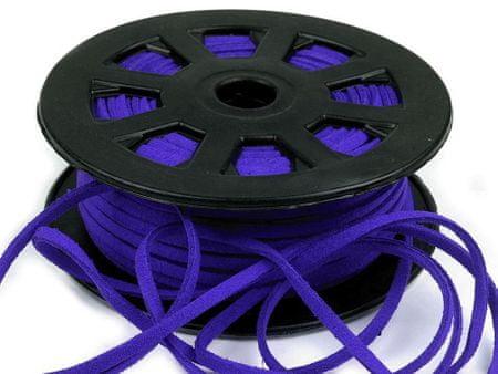 Kraftika 30m kobalt kék lapos utánzat bőr kábel szélessége 3mm