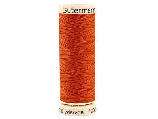 Kraftika 1ks 982golden poppy polyesterové nitě návin 100 m gütermann