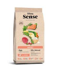 Hájek Pet Food Dibaq Adult Sense LG - Fish - kompletní krmivo ryby a rýže - 12 kg Váha: 12 kg