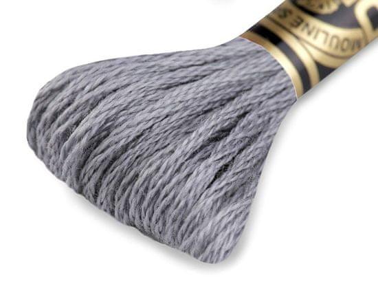 Kraftika 1ks zinc vyšívací příze dmc mouliné spécial cotton