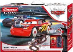 CARRERA tor wyścigowy GO 62518 Disney Rocket Racer