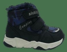 Slobby chlapčenská členková obuv 160-2008-T1