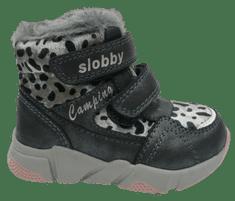Slobby dievčenská členková obuv 160-2008-T1