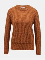 Jacqueline de Yong hnědý svetr Tessa
