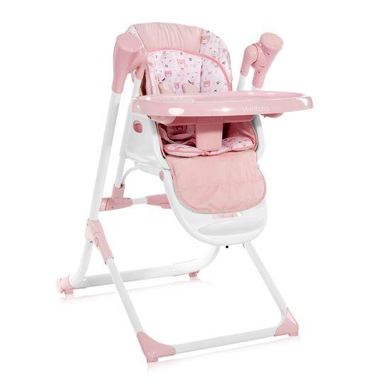 Lorelli Jídelní židlička VENTURA PINK