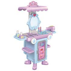 BAYO Dětský rozkládací kosmetický stoleček autobus Bayo + příslušenství