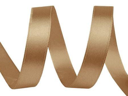 Kraftika 22,5 m halvány arany szatén szalag szélessége 10mm
