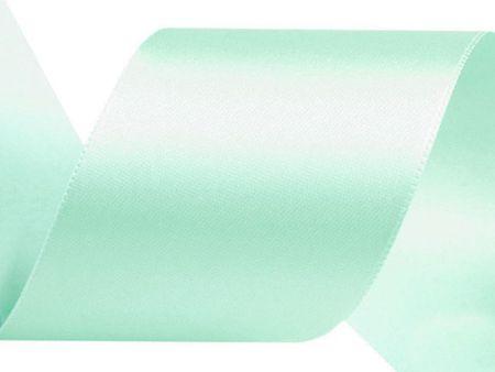 Kraftika 5m 80 menta szatén szalag csomag per 5m szélesség 40mm