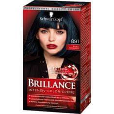 Schwarzkopf Brillance boja za kosu, 891 plavo crna
