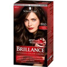 Schwarzkopf Brillance boja za kosu, 880 tamno smeđa
