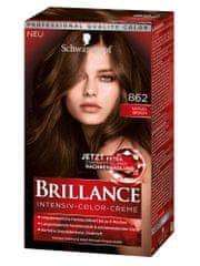 Schwarzkopf Brillance boja za kosu, 862 naravno smeđa